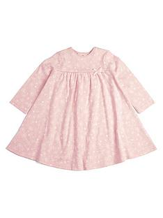 mamas-papas-baby-girls-printed-long-sleeve-dress-pink