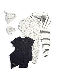 mamas-papas-baby-unisex-6-piece-monochrome-set-multi