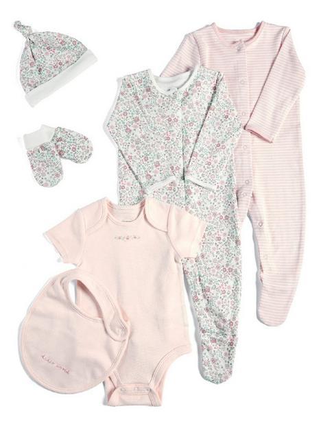 mamas-papas-baby-girls-6-piece-set-pink-multi