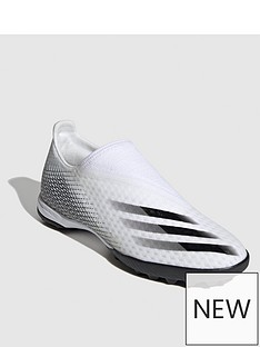 adidas-x-laceless-ghosted3-astro-turf-football-boots-white