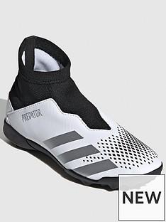 adidas-junior-predator-laceless-203-astro-turf-football-boot-black