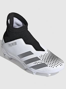 adidas-junior-predator-laceless-203-firm-ground-football-bootnbsp-black