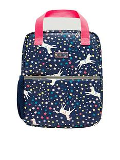 joules-girls-unicorn-rubber-backpack-navy
