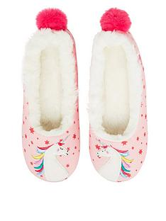 joules-girls-unicorn-ballet-slippers-pink
