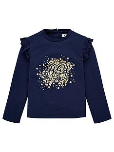 v-by-very-girls-long-sleeve-yay-t-shirt-navy
