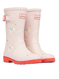 joules-girls-unicorn-roll-up-wellies-pink
