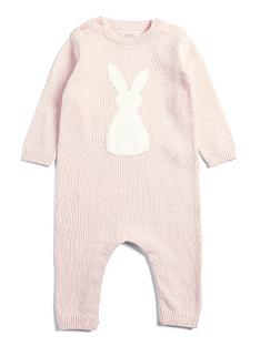 mamas-papas-baby-girls-knitted-bunny-romper-pink