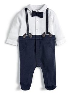 mamas-papas-baby-boys-mock-brace-all-in-one-blue
