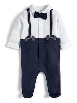 mamas-papas-baby-boys-mock-brace-all-in-one-blue