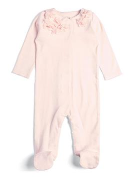 mamas-papas-baby-girls-3d-flower-all-in-one-pink