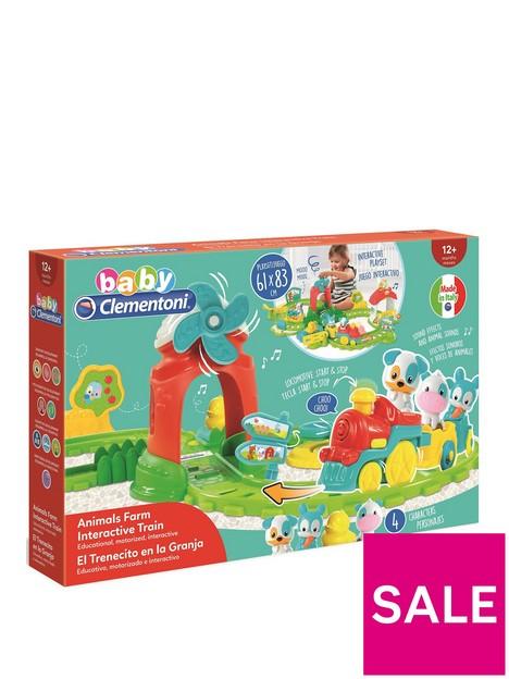 baby-clementoni-farm-animals-train-set