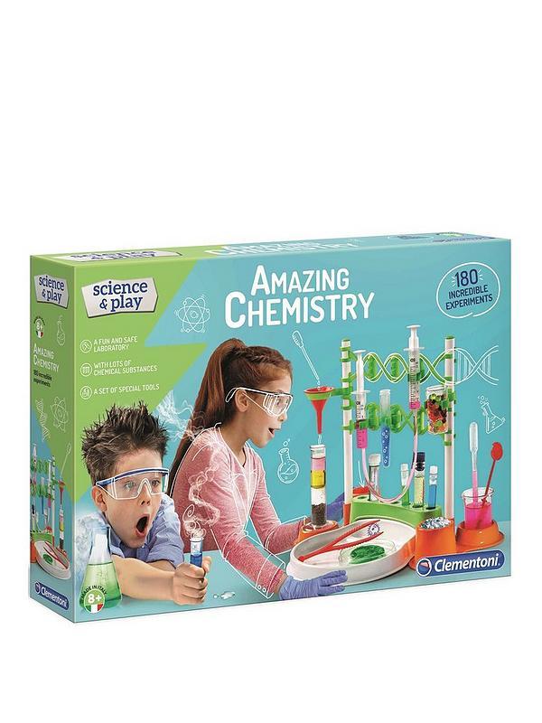 Clementoni Science & Play-საოცარი ქიმია