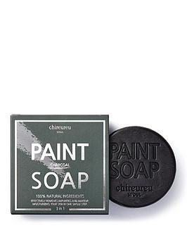 chireureu-charcoal-deep-cleansing-paint-soap-100g