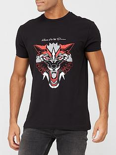 kings-will-dream-wolf-tee-black