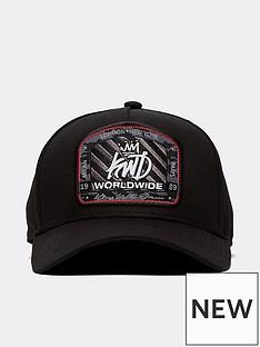 kings-will-dream-truman-pinch-peak-cap-black