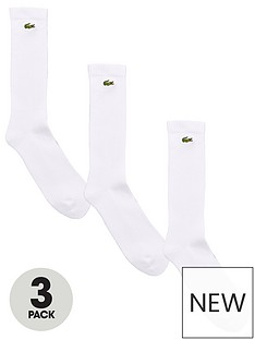 lacoste-sport-trainer-liner-3-pack-sock-white