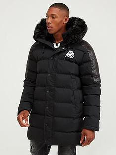 kings-will-dream-hunton-long-line-parka-jacket-black