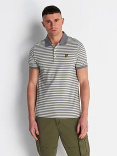 lyle-scott-stripe-polo-shirt-cream