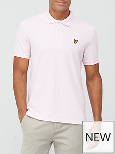 lyle-scott-marl-polo-shirt-lilac