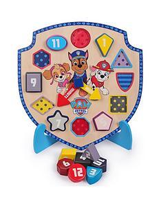 paw-patrol-puzzle-clock