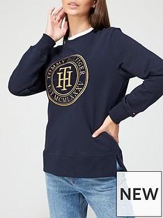 tommy-hilfiger-regular-badge-logo-sweatshirt-navy