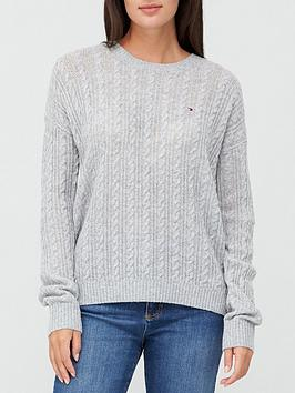 tommy-hilfiger-softwool-cable-sweater-grey