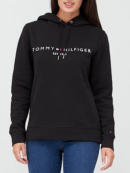 tommy-hilfiger-essential-hoodie-black