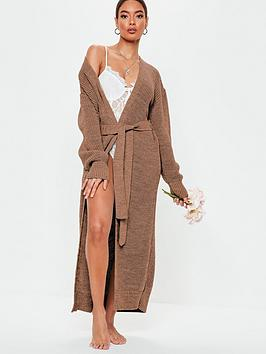 missguided-missguided-belted-maxi-cardigan-mocha