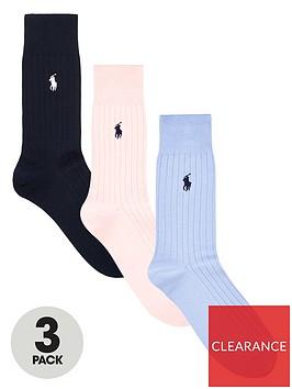 polo-ralph-lauren-3-pack-egyptian-cotton-ribbed-socks-navypinkblue