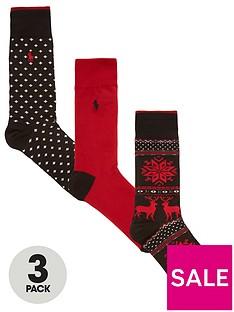 polo-ralph-lauren-3-pack-sock-winter-fairisle-gift-box-redblack