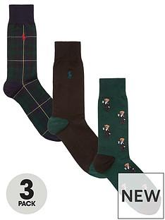 polo-ralph-lauren-sock-mini-martini-bear-gift-box-3-pack-greenblacknbsp