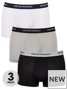 emporio-armani-bodywear-3-pack-emporio-waistband-stretch-cotton-trunks-blackgreywhite