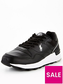 polo-ralph-lauren-trackster-pony-leather-runner-trainers-blacknbsp