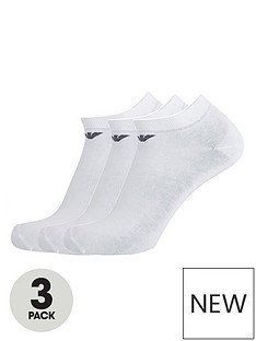emporio-armani-bodywear-bodywear-3-pack-cotton-trainer-socks-white