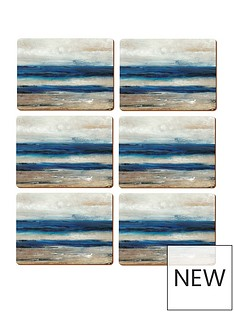 creative-tops-abstract-ocean-view-placemats-ndash-set-of-6