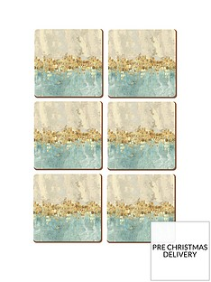 creative-tops-golden-reflections-coasters-ndash-set-of-6