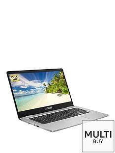 asus-chromebook-c423na-eb0324-14-inch-full-hdnbspintel-pentiumnbsp4gb-ramnbsp64gb-storage-optional-microsoftnbsp365-family-silver