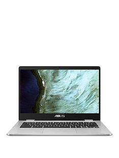 asus-chromebook-c423na-bv0158-intel-celeron-4gb-ram-64gb-storage-14in-hd-laptop-with-optional-microsoftnbsp365-family-silver