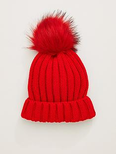 v-by-very-pom-beanie