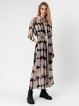 religion-joy-patterned-shirt-dress-pink