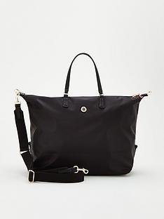 tommy-hilfiger-poppy-weekender-bag-black