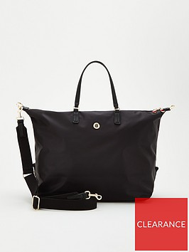 tommy-hilfiger-poppy-weekender-bag-black
