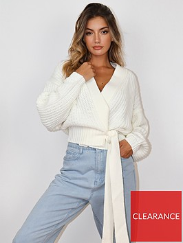 missguided-missguided-belted-cardigan-white