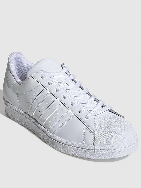 Molde Sinfonía ayer  adidas Originals Superstar - White White | very.co.uk