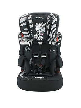 Nania Adventure Beline Sp Zebra Group 123 High Back Car Booster Seat