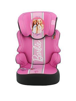 Barbie Befix Sp Lx Group 2-3 High Back Car Booster Seat