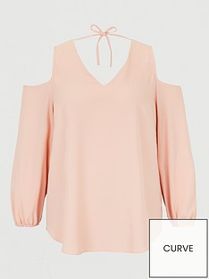 v-by-very-curve-cold-shoulder-tunic-blouse