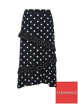 dorothy-perkins-frill-midi-skirt-black