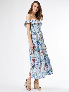 dorothy-perkins-floral-print-midi-dress-multi