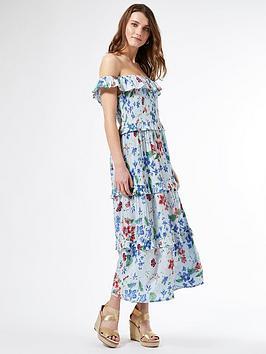 dorothy-perkins-floral-print-midi-dress-multi